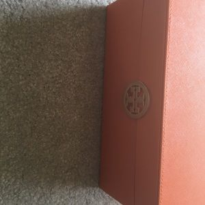Tory Burch Other - Authentic Saffiano Leather Tory Burch Storage Box